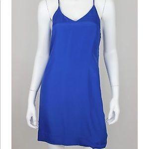 J. Crew Tank Cami Sleeveless Cobalt Strappy Dress
